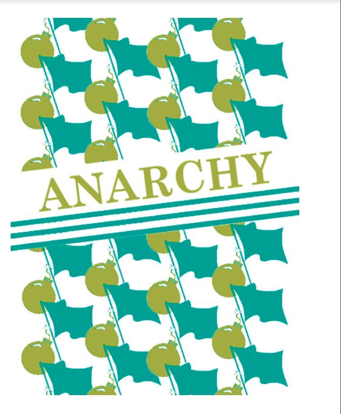 664 Anarchy (Pistols Drawn Words Series)