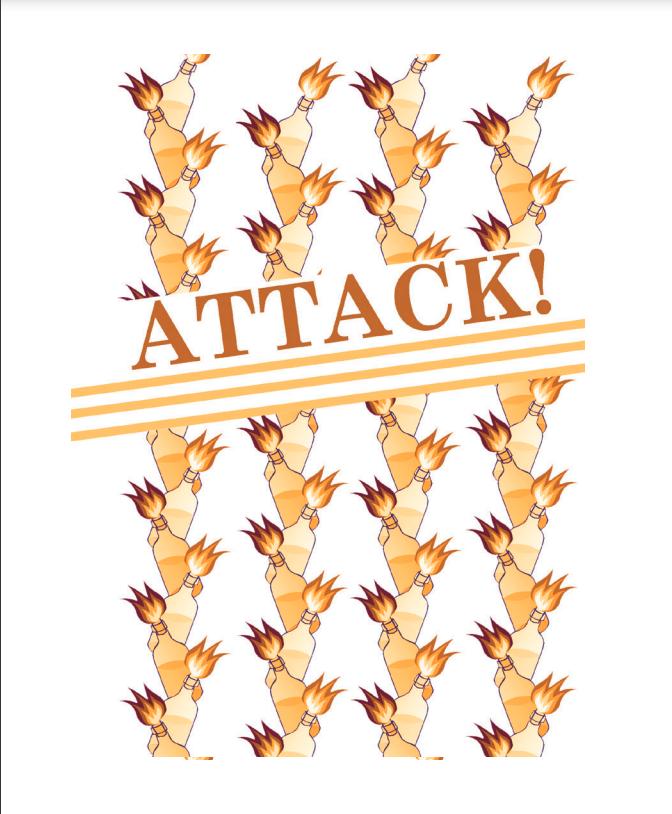 662 Attack! (Pistols Drawn Words Series)