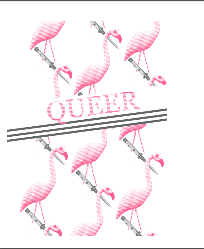 663 Queer (Pistols Drawn Words Series)