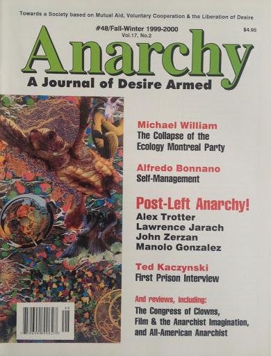424 Post-Left Anarchy? by Jason McQuinn