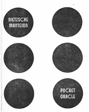 107 Nietzsche Manteion Pocket Oracle